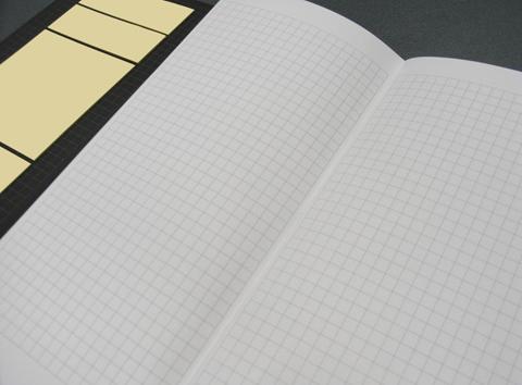 ノートの方眼罫の様子の写真