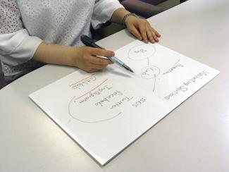 JABARANをノート風に使っている写真