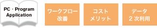 書籍制作での改善点:ワークフローの改善_コスト_データの2次利用