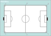 フォーメーション・シートの写真(サッカー)