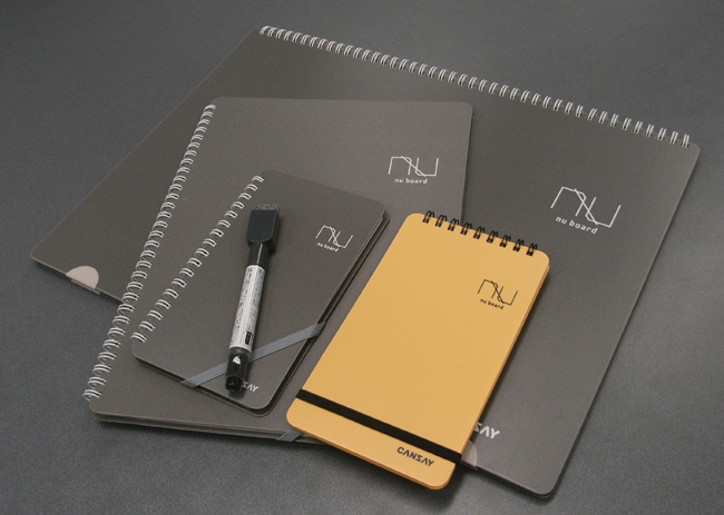 nu board(A3、A4、新書、FME)の集合写真