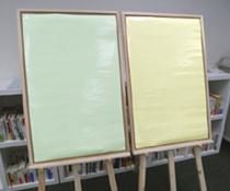 消せる紙パステルの使用例写真1