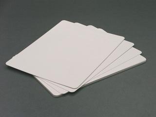 紙製 薄型ホワイトボードの写真(10枚入り)