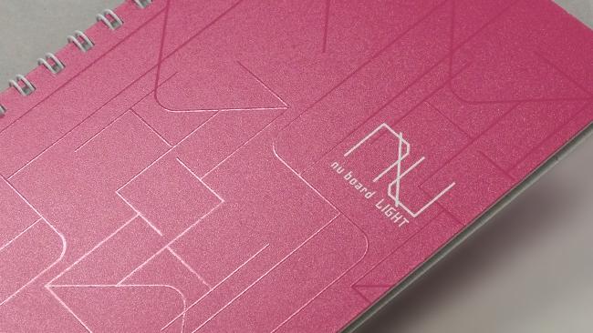 表紙の拡大写真(ピンク)
